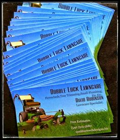 """""""Dubble Luck Lawncare"""" & Flowerbeds, Tree Trimming, Small Plumbing, etc.  A Very Reliable And Dependable Company With Excellent Service And Always Punctual.  A proud sponsor of """"Quahhar's WEB Designs""""  http://www.quahharswebdesigns.biz   For more information about Dubble Luck Services And Free Estimates Please Contact David Robinson Lawn care Specialist 540-315-5680 Licensed and Bonded"""