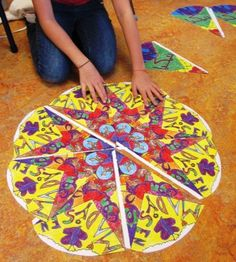 radial design art project
