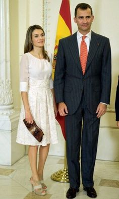 Crown Princess Letizia & Crown Prince Felipe of Spain