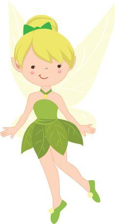 Cute Fairies-Cherry Clipart - Minus