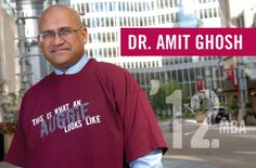 Dr. Amit Ghosh '12 of the Mayo Clinic talks about his MBA studies at Augsburg.