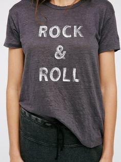 Zadig & Voltaire Rock N Roll Tee at Free People Clothing Boutique