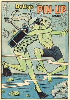 Betty's Pin-Up, Archie Comic Publications, Inc.  https://www.pinterest.com/citygirlpideas/archie-comics/