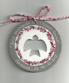 1000 images about baptism craft ideas on pinterest - Idees deco bapteme fille ...