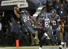 One of the best plays in recent NFL playoff history...Marshawn Lynch seals win against Super Bowl champ Saints.