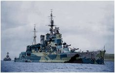 Battlecruiser HMS Renown, 1942