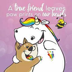 True Friends! #Pummeleinhorn
