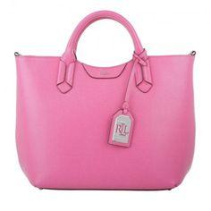 Lauren Ralph Lauren Tasche – Convert Tote Raspberry Rose – in rosa – Henkeltasche für Damen