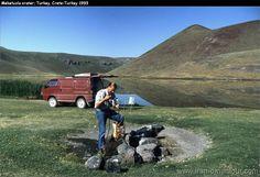Campsite - Meketuzla crater - Turkey 1993