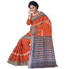 Buy OSS112: Cotton IKAT handloom Indian Saree from Odisha online - Odisha Saree Store