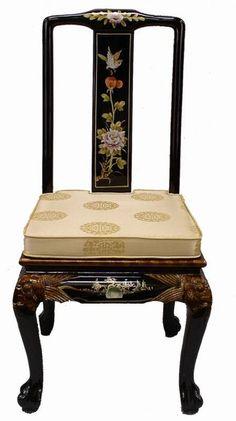 Oriental Furniture Accent / Dinning Chair  Price: $159.99