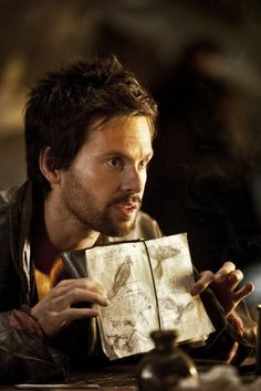 "Tom Riley in ""Da Vinci's Demons"""