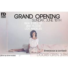 """""""Throwing a Grand Opening party for FD Photo Studio new location! - Come, bring your cameras to test new stages! A-list models on a set - Win FREE studio rental packages in our lottery - Make new connections for ur next collaboration  P R O M O T E  Y O U R S E L F - Bring your printed work! - Throw a master class! - Share your work experience!  Champagne, good music and positive vibes are on us 😎🥂 Peace  #fdphotostudio #photostudio #photoexhibit #photography #photoshoot #photo…"""