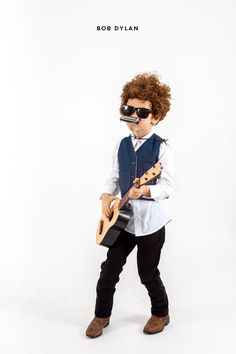 Little Musicians Costumes: Bob Dylan