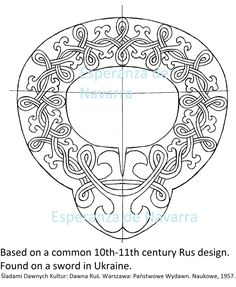 rus sword design 10th c 2 wm