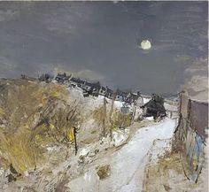 Joan Eardley's 'Catterline in Winter' (1963) © Estate of Joan Eardley