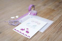 Colourful bunny rabbit laser cut wadding invitation Bunny Rabbit, Invitations, Phone, Color, Colour, Telephone, Phones, Colors, Invitation