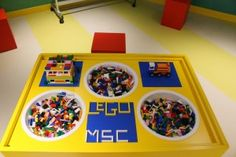 MSC Sinfonia: un restyling coi fiocchi Lego, Home Decor, Decoration Home, Room Decor, Legos, Interior Decorating