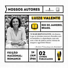 Luize Valente é escritora, documentarista e jornalista, com mais de 25 anos de experiência em televisão. Formada em Jornalismo, com pós-graduação em Literatura Brasileira, sempre foi apaixonada por História, com especial fascínio por temas ligados ao Judaísmo, às raízes judaicas do Brasil e à saga dos judeus de Portugal.