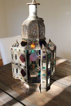 Vintage Light  Moroccan Lantern Chandelier by SearchingforPanda,