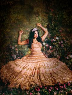 Wedding Photographer Re-Imagines Disney Princesses as Stunning Indian Brides - My Modern Met