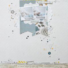 #papercraft #scrapbook #layout   Magda Mizera