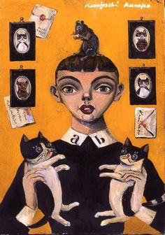 金子國義ギャラリー – 猫たち
