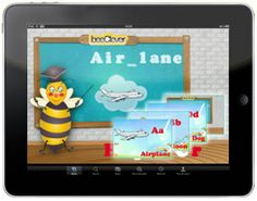 beeLetters Android and iPhone kids application for learning alphabet