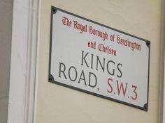 KINGS ROAD CHELSEA, via Msfiggis Flickr.