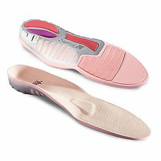Spenco For Her Total Support Women's Full Length Insoles align a woman's body for a more balanced stride, and the shock-absorbing design softens steps. Plus, FootSmart has more Spenco foot inserts to help enhance shoe comfort.