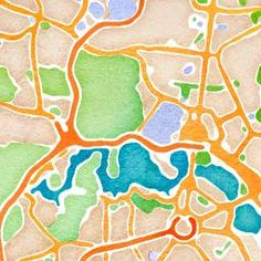 Turn any map into a watercolour