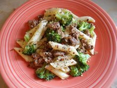 A healthy dinner option during the holidays, Pasta With Ground Turkey and Broccoli
