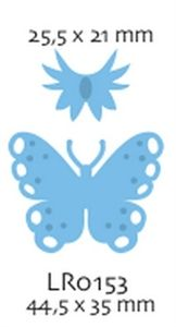 BGPayne Crafts. Marianne Design Creatables Butterflies small
