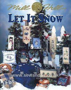 Buy Let It Snow Chart Booklet online at sewandso.co.uk