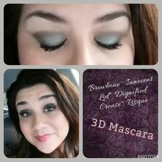 Look of the day! #makeup #younique #mascara