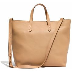 MADEWELL The Zip-Top Transport Carryall ($188) ❤ liked on Polyvore featuring bags, handbags, tote bags, linen, zip top tote, laptop tote bag, leather zip tote, zipper tote and leather laptop tote