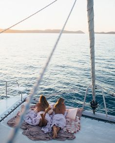 Sailing dreamy heaven catamaran love
