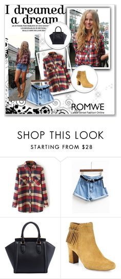 """""""Romwe 7/V"""" by nermina-okanovic ❤ liked on Polyvore featuring Tabitha Simmons and romwe"""