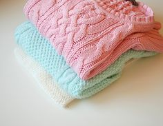 I love these sweaters!