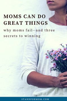 Being a stay at home mom often means I fail at the things that matter most--but it doesn't have to be that way!!