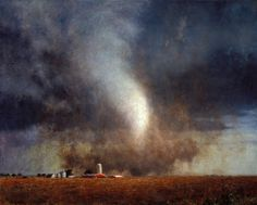 Tornadoes - John Brosio – Painter
