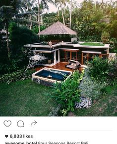 Home Sweet Hom Vintage Gardens Ideas Rest House, My House, Tropical Houses, House Goals, My Dream Home, Exterior Design, Future House, Modern Architecture, Beautiful Homes