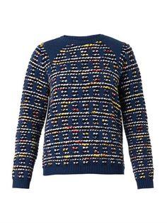 Tartan-check knitted tweed sweater | Coohem | MATCHESFASHION.COM