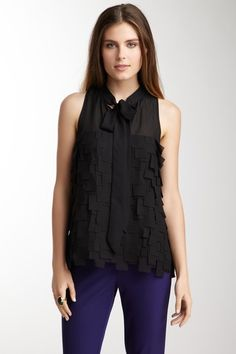 Layered Chiffon Blouse by Kenneth Cole New York on @HauteLook
