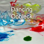Dancing Oobleck see sound waves in action too cool! All you need is cornstarch,water and a speaker