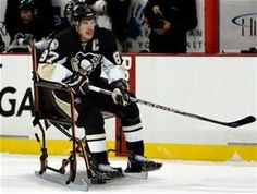 Ice wheelchair