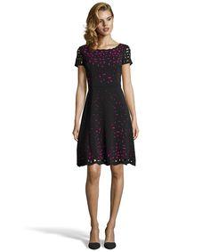 Laser Cutting Crepe Dress