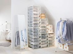 Gone are the days where clothing and accessories hide behind closed doors. These functional and stylish wardrobe options are perfect storage solutions for homes that are short on closet space.