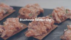 Salmon Dip, Recipes Appetizers And Snacks, How To Grill Steak, Creme Fraiche, Seafood, Dips, Grilled Steaks, Yummy Food, Stuffed Peppers