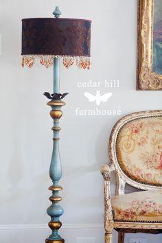 italian-lamp #frenchdecor